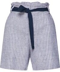 f73f2fc2d1f9 VILA Kalhoty  Karisa  námořnická modř   bílá