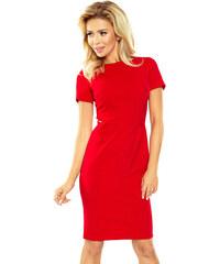 2402f6af03 Dámske šaty Numoco 150-2 Dorota červená