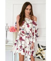 aa09f00d46c3 Inny Kvetované dámske šaty Flavia