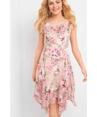 d6bd39b5e699 ORSAY Asymetrické květované šaty