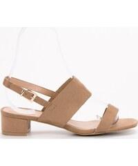 5eefe7096dfc BASIC Pohodlné sandále na podpätku X535KH