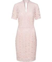 3274ffe68932 Růžové šaty s krajkou