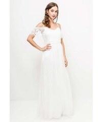 026ef0b71106 EVA   LOLA Svatební šaty AUDREY bílé