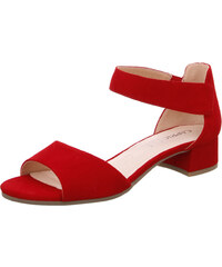 64b4a8202d2f Caprice dámské semišové sandále na podpatku 9-28212-22 524 červené