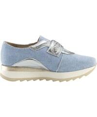 e83f733480 heine Tenisky džínsová modrá-strieborná