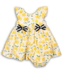 c3fabcd93376 Minoti lemon 2 Šaty dievčenské s nohavičkami