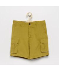 7c865fdf706e Chlapčenské nohavice s trakmi MINOTI COOL svetlohnedé - Glami.sk