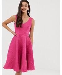8131d2ed27 Closet London Closet full skirt lined dress - Fuschia