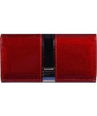 489f71d2a3bba Lorenti Lesklá dámská peněženka Rubí