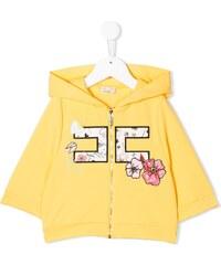 3ff303f2c43b Elisabetta Franchi La Mia Bambina appliqué detail hoodie - Yellow