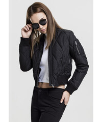 61049a5669de Dámska prechodná bunda Urban Classics Ladies Leather Imitation Biker ...