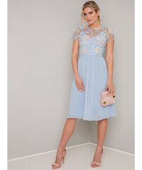 d45db04611f1 Chi Chi London Chi Chi Rusa Svetlomodré šaty s kvetinovým topom