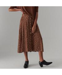 099495d11649 Mohito - Vzorovaná viskózová sukňa - Hnědá