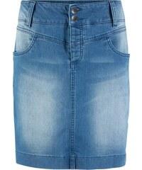 8d3fa35b9095 bonprix Udržitelná džínová sukně z recyklovaného polyesteru