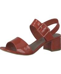 488ae7a21a77 TAMARIS Páskové sandály červená