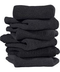 H.I.S HIS Kurzsocken (6er-Pack) in schwarz für Damen von bonprix