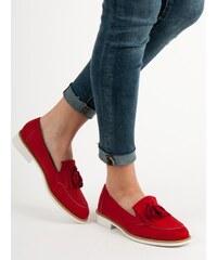 0e6b55e00c Červené Dámske topánky z obchodu RioTopanky.sk