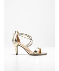 f4edb9bd855a Metalický Dámske sandále