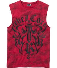 629ec4a55b64 Vínové Pánske tričká s okrúhlym výstrihom