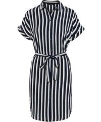 8aee1eb1cf7b VERO MODA Košilové šaty  Sasha  námořnická modř   bílá