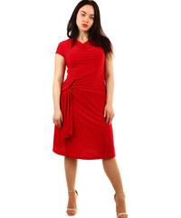 416373d9c5c8 Glara Dámske spoločenské šaty s krátkym rukávom