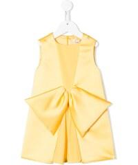 b827ce43b925 Elisabetta Franchi La Mia Bambina bow detail dress - Yellow