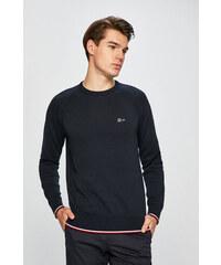 a9d1e4642b Krémovo-modrý melírovaný sveter Tommy Hilfiger - Glami.sk