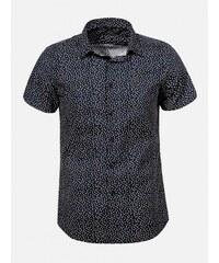 eb543e33b065 Arthur Phillip - Premium Čierna pánska košeľa MEETING