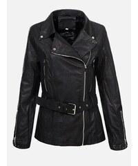 bfbc4a867cca KOKAI New Collection Čierna dámska kožená bunda Sion