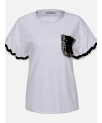 16df58aa1f LAURA LONDI Biele dámske tričko Palermo