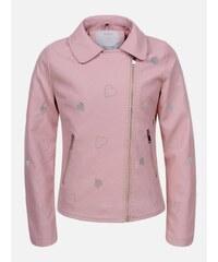 274bcfb2683b Harpers New Collection Ružová dievčenská bunda Heart