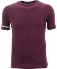 229e26ef2ca5 Pánské jednobarevné fialové tričko Gas