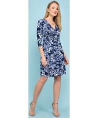 57964503bc50 Un Coeur en Ete dámské šaty Anemone 38 modrá