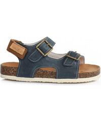 7b0d835e057b D.D.STEP korkové sandále AC051-3M royal blue