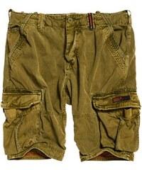 3ef3109ee306 SUPERDRY Pánske krátke nohavice s kapsáčmy CORE CARGO LITE SHORT