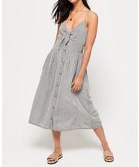 61bed6c24ad6 SUPERDRY Dámske šaty JAYDE TIE FRONT MIDI DRESS