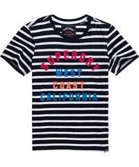 00935317d74a SUPERDRY Dámske tričko WEST COAST STRIPE ENTRY TEE
