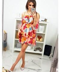 efa4a277b941 Kvetované Šaty s dlhým rukávom z obchodu Kokain.sk