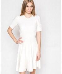 d367390ac6b9 Hugo Boss Dámske šaty Wildah biele s prímesou hodvábu