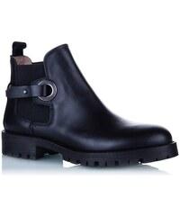 5153ec206a85 Dámske topánky HUGO BOSS členkové čižmy čierne