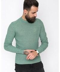789850bc5bd5 Pánsky sveter Hugo Boss Kadrisly zelený s nášivkou