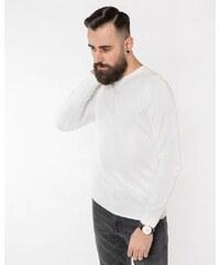 a7999b02bb8b Hugo Boss Pánsky sveter Kwasiros biely