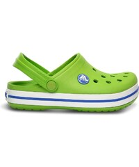 Crocs Crocband Kids Volt Green/Varsity Blue