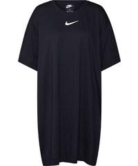6ba3aa198789 Nike Sportswear Šaty  W NSW SWSH DRESS PLUS  černá   bílá. 1 ...
