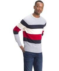 dae2cb22fc42 Tommy Hilfiger pánsky pruhovaný sveter Stripe