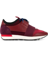 8c6f405dfe Balenciaga Runner panelled sneakers - Red
