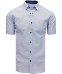 0f94d6d707bc Dstreet Originálna biela košeľa s jemným vzorom