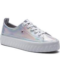 1dadaa2f39 Sportcipő TOMMY HILFIGER - Iridescent Flatform Sneaker FW0FW04142  Iridescent 901. 28 900 Ft