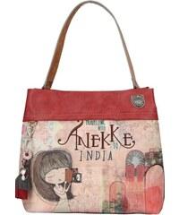 46ed44df54 Anekke farebná kabelka India s denimovými prvkami