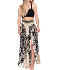 5c0fd2149926 Farebná maxi dlhá bohémska sukňa so strapcami LC420098-2